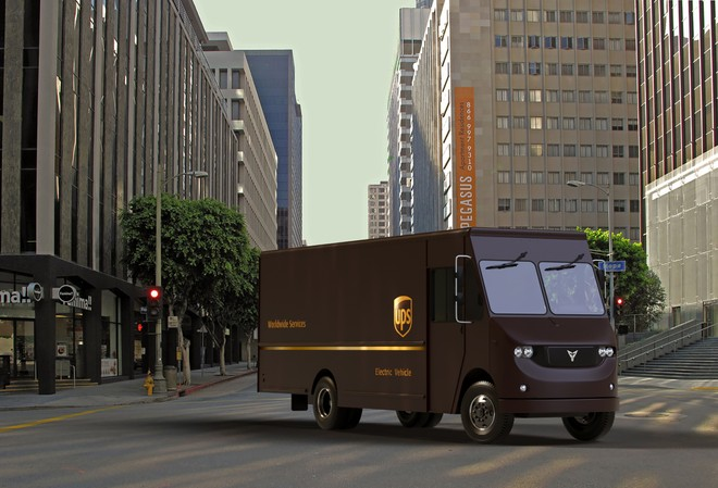 UPS prosegue l elettrificazione della flotta dopo che nel novembre scorso  ha annunciato di voler convertire all elettrico fino a 1.500 mezzi diesel  ... 161e85702f73