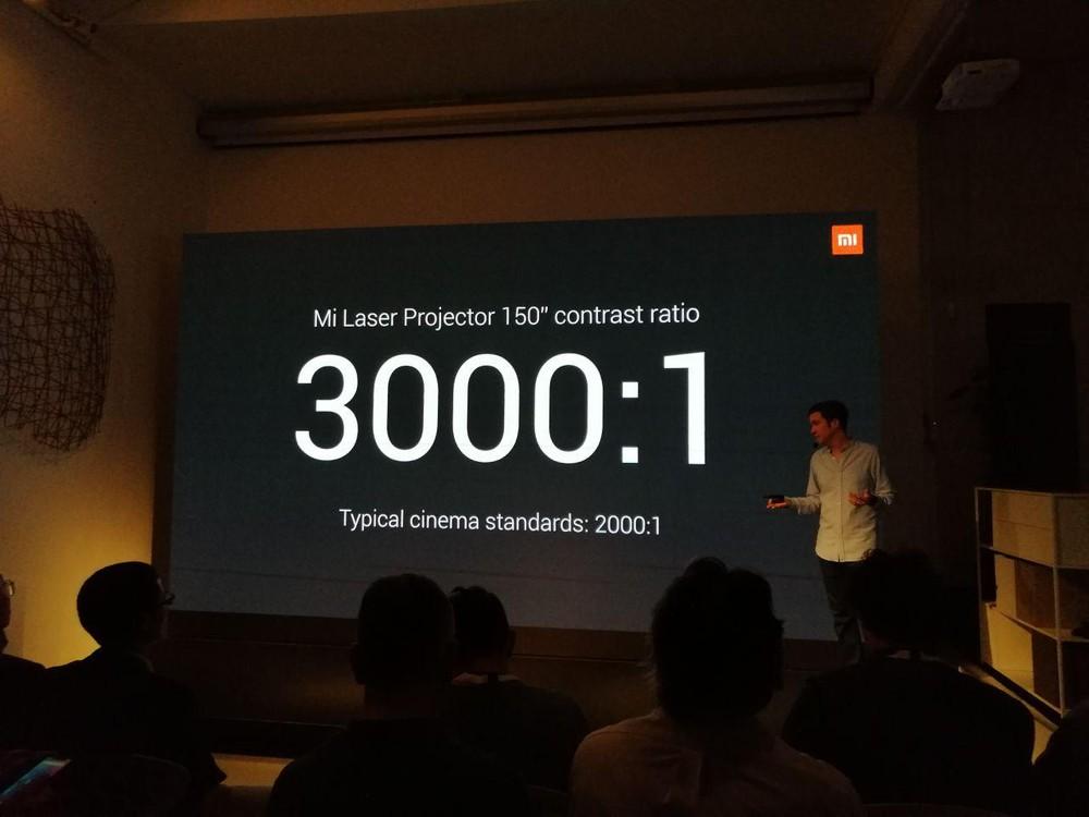 Xiaomi Mi Laser Projector disponibile nei Mi Store a 1899