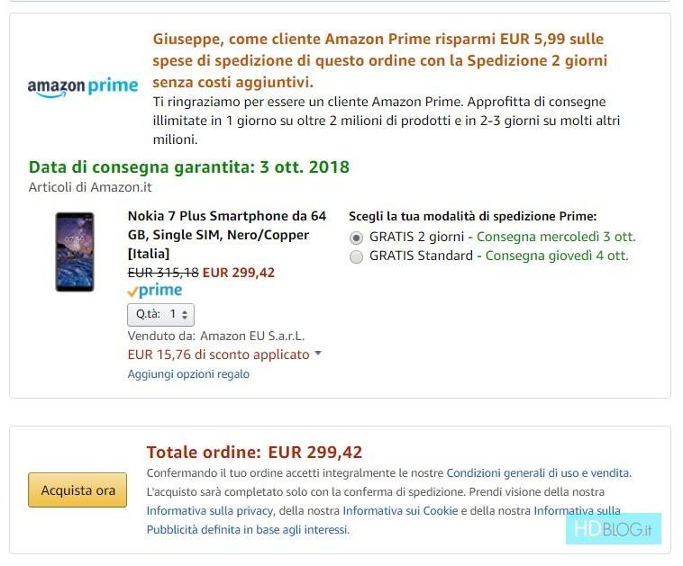 sito web professionale stile romanzo nuovo arriva Nokia 7 Plus in offerta a 299 euro su Amazon Italia - HDblog.it