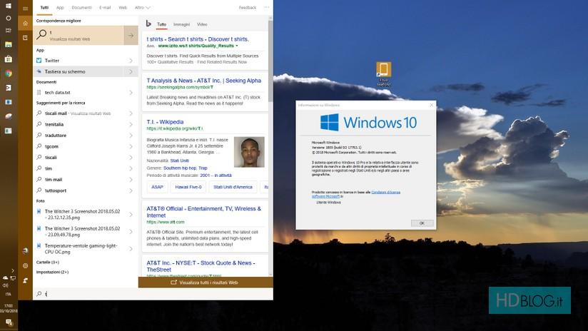 Windows 10 1809 October 2018 Update Le Principali Novità Hdblogit