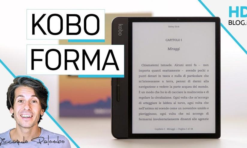 Recensione Kobo forma: sfacciato a metà - HDblog it