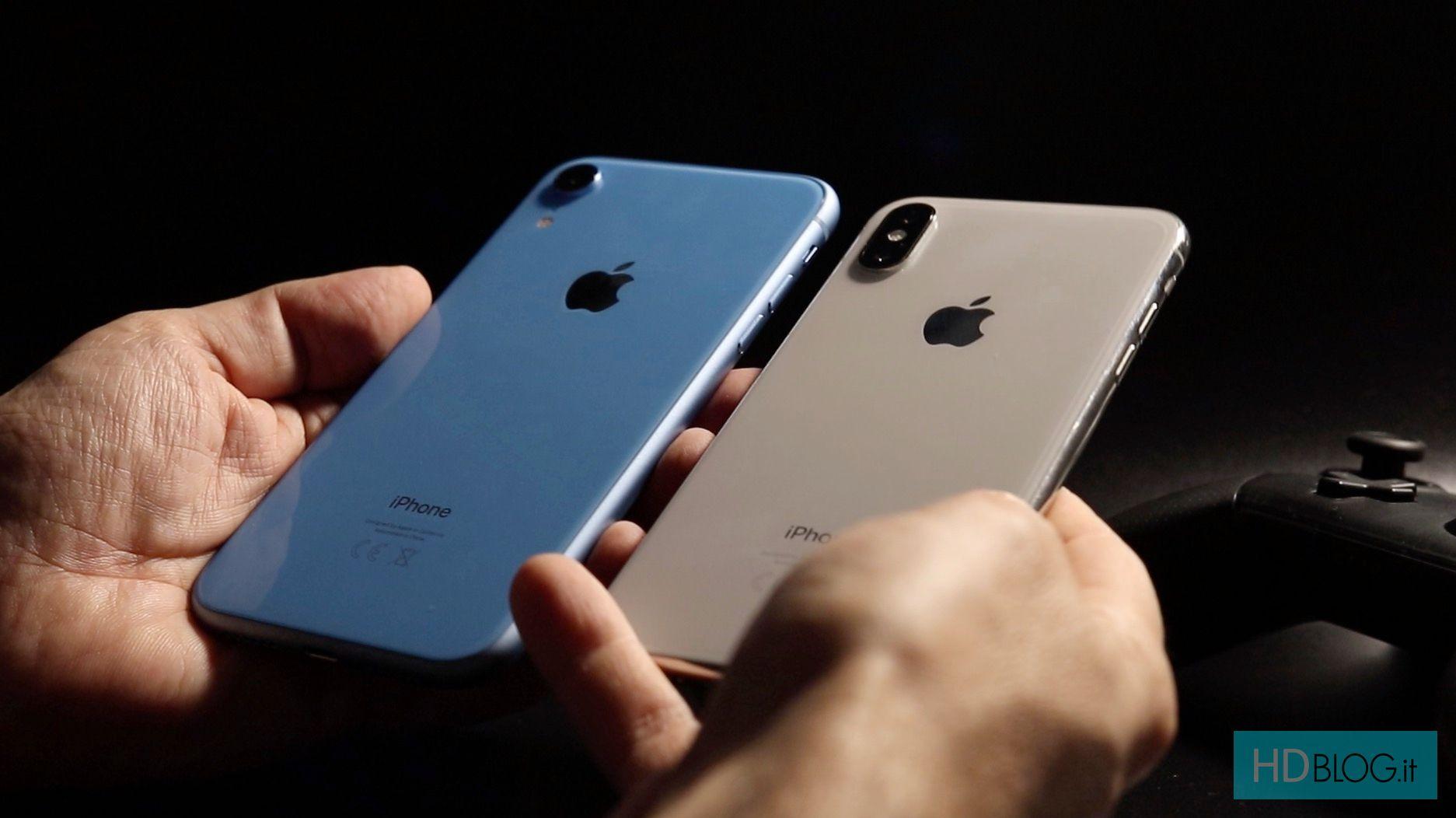 Screenshot su iPhone XS, iPhone X, iPhoneXS Max e iPhone XR