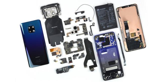 Huawei Mate 20 Pro smantellato da iFixit: riparazioni complicate ma fattibili - image  on https://www.zxbyte.com