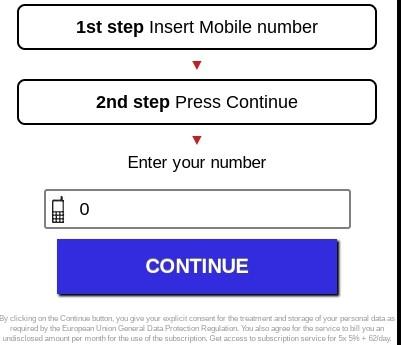 numero di telefono premium