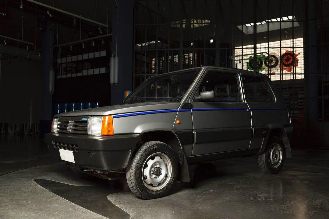 Fiat Panda 4x4, il restomod di quella dell'Avvocato
