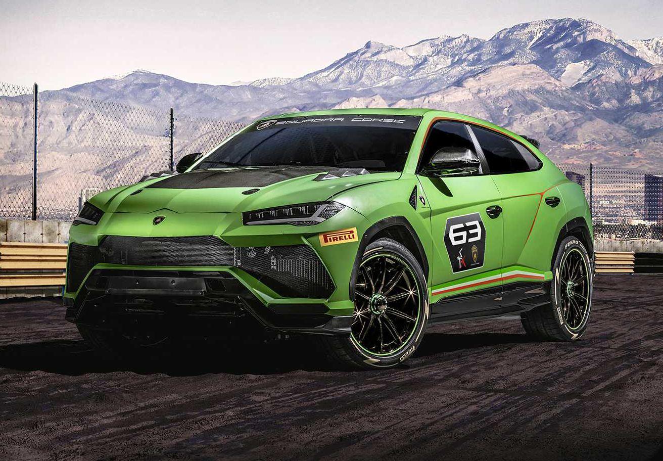 Lamborghini Urus ST-X concept, primo SUV da competizione al mondo