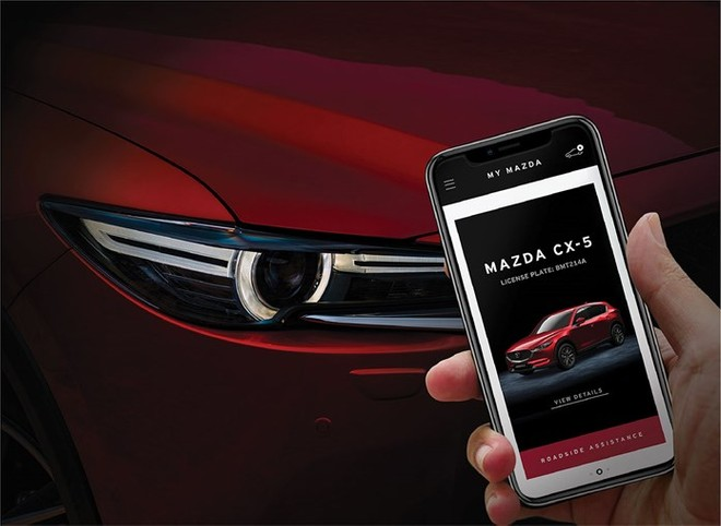 My Mazda App, new features improve the interaction with the vehicle