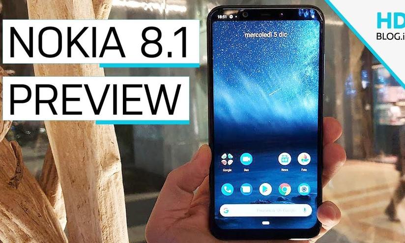 Nokia 8.1 ufficiale: snapdragon 710 e doppia cam a 459 euro