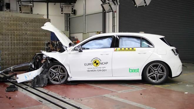 Euro NCAP 2018, Mercedes Classe A la più sicura nei crash test