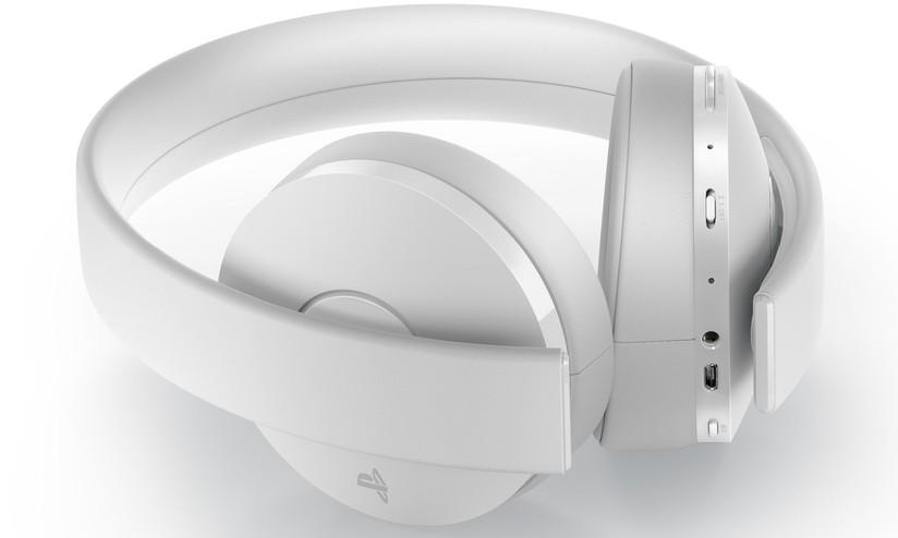 9d1c95075405cd PlayStation 4 e PSVR, disponibili le cuffie wireless con microfono Gold in  bianco