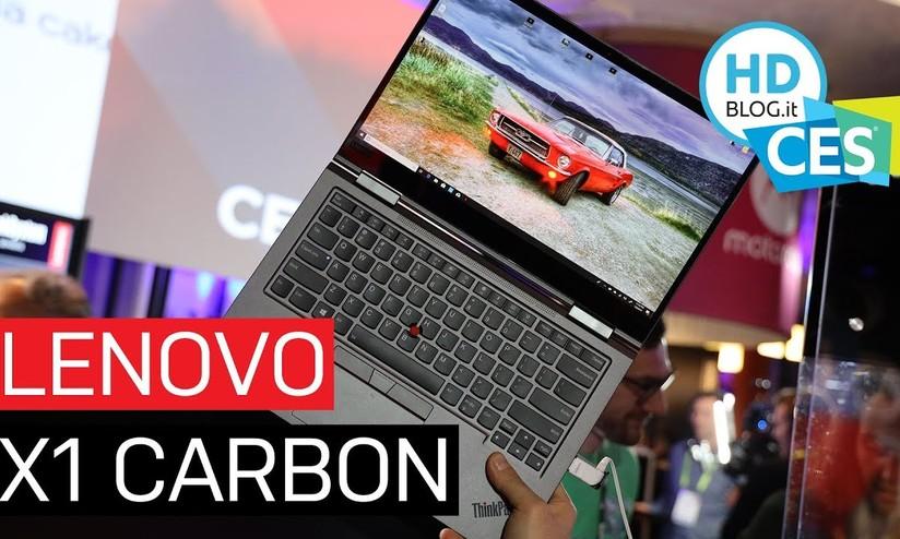 Lenovo ThinkPad X1 Carbon e Yoga: la nuova generazione| Anteprima
