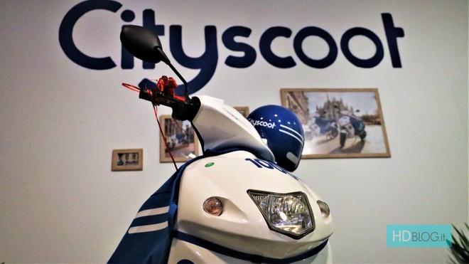 Cityscoot Debutta In Italia 500 Scooter Elettrici Già A Milano In