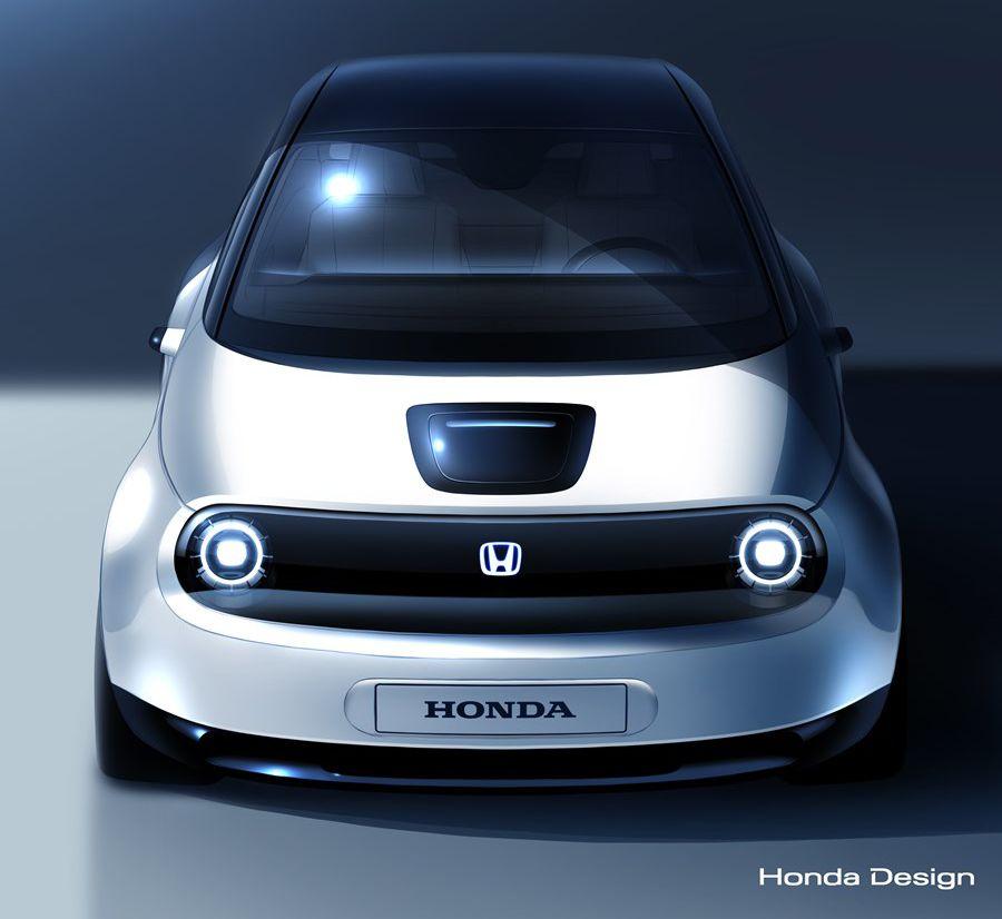 Honda Urban EV, a Ginevra la citycar elettrica e retrò