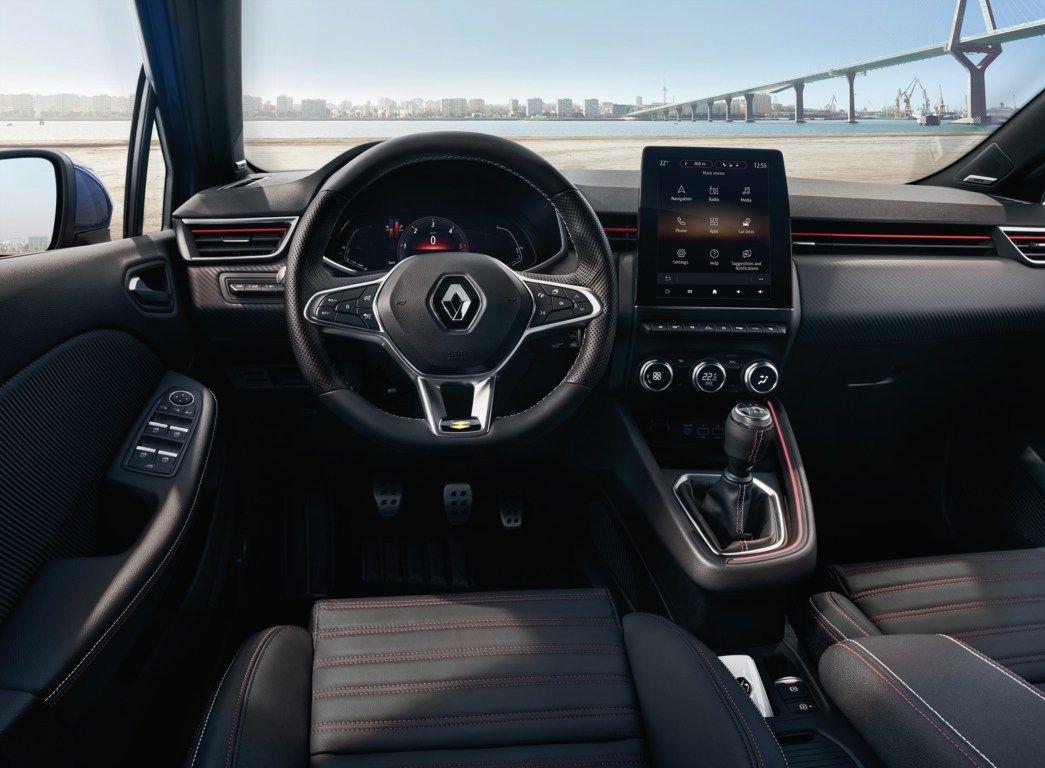 Nuova Renault Clio la foto esclusiva degli interni