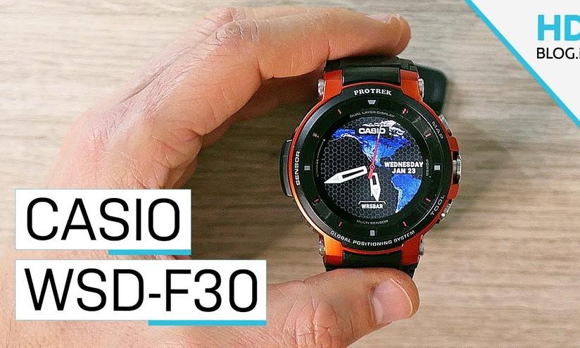 aa956c541ee9 Recensione Casio Pro Trek Smart WSD-F30  lo sportwatch per sfidare sé  stessi - HDblog.it