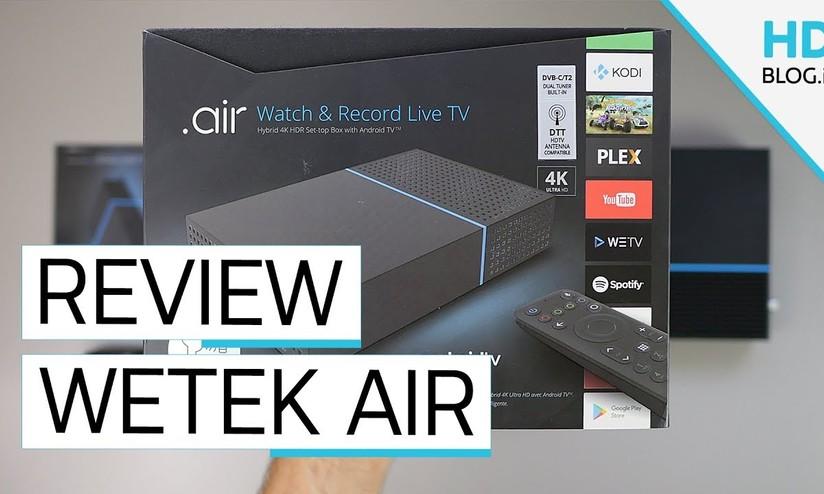 Recensione WeTek Air: satellite, digitale terrestre e PVR su