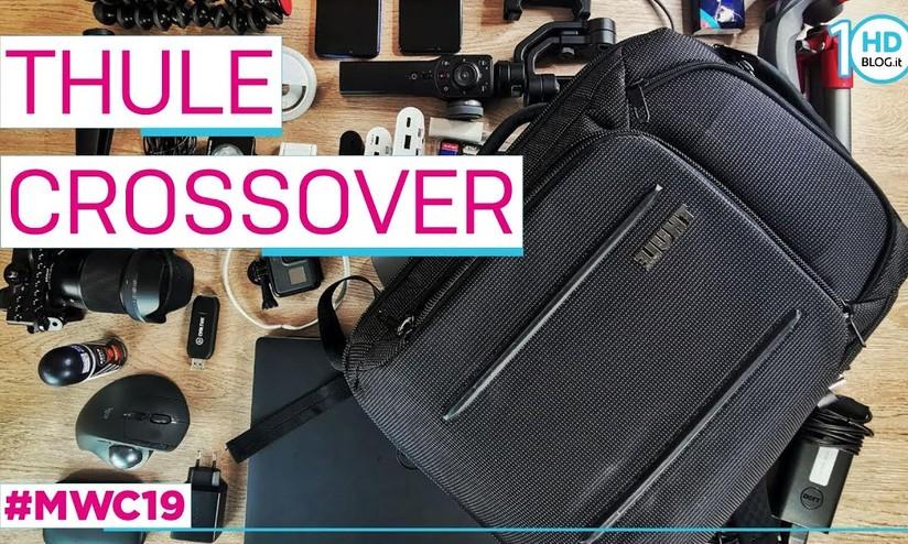5e3db5d383 Zaino Thule Crossover 2: tutti i gadget tech che abbiamo usato al MWC 2019  - HDblog.it