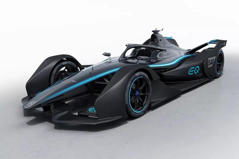 Mercedes-Benz svela la sua nuova elettrica da corsa per la ...