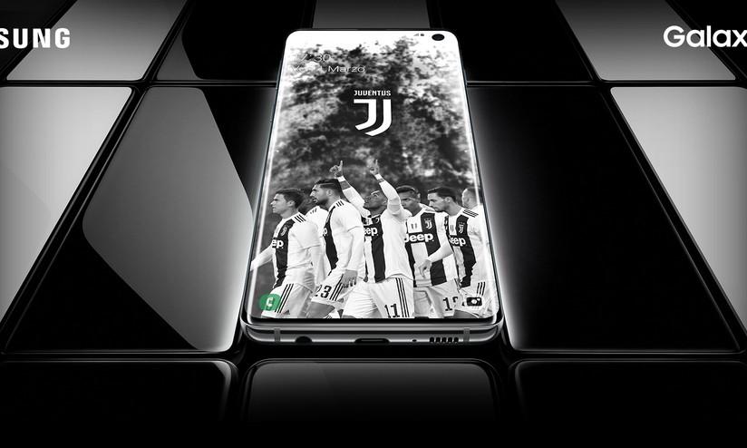 Samsung Galaxy S10 Si Tinge Di Bianconero Con La Juventus Special