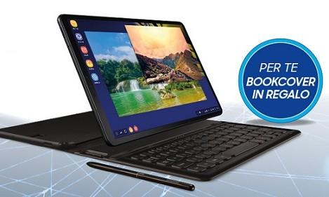 dd64de7bd76a56 Galaxy Tab S4: Bookcover Keyboard in omaggio per chi lo acquista entro il  31/03