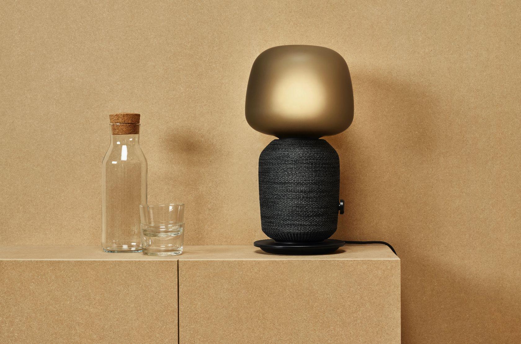 Ikea e sonos ecco la lampada da tavolo con altoparlante wi fi