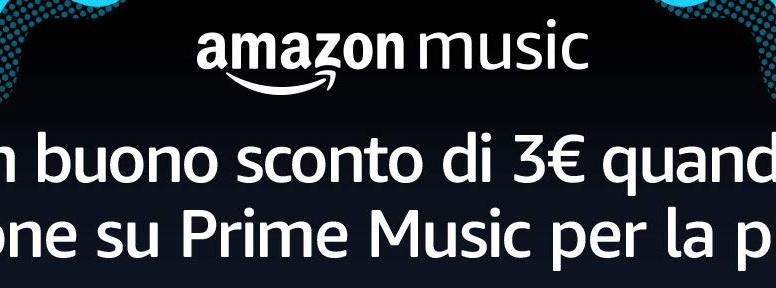 1f2dc6d0d7 Volete 3€ di buono sconto Amazon? Ascoltate un po' di musica! - HDblog.it