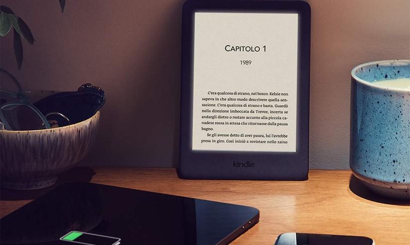 Amazon kindle è tutto nuovo ora con luce integrata a 79 euro