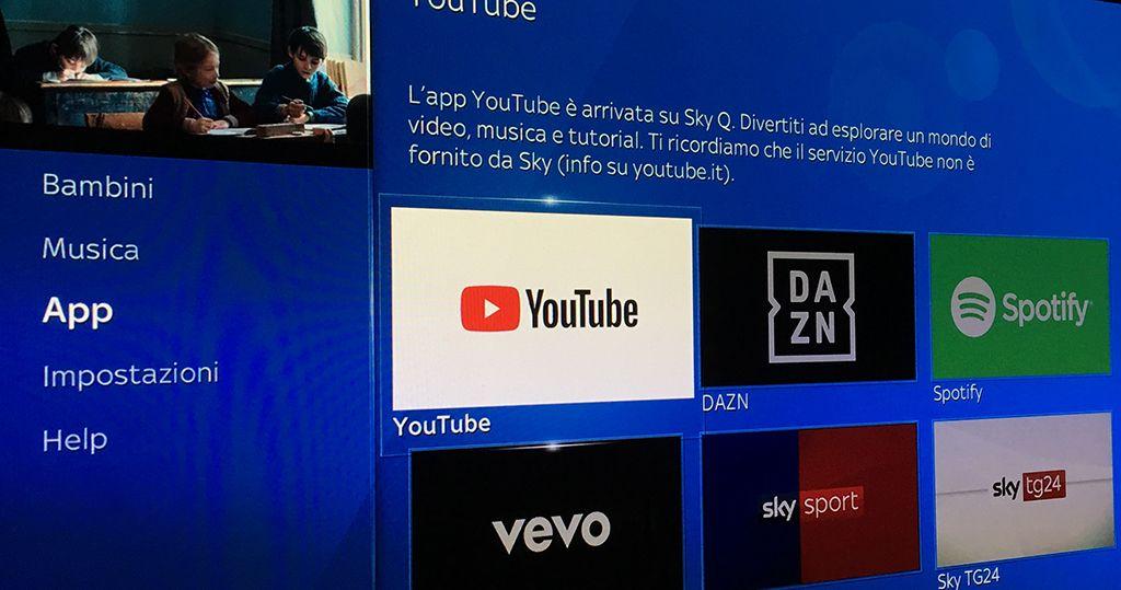 YouTube Roku collegamento