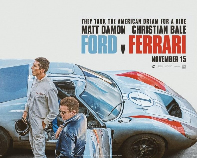 Ford V Ferrari, il trailer promette mooolto bene