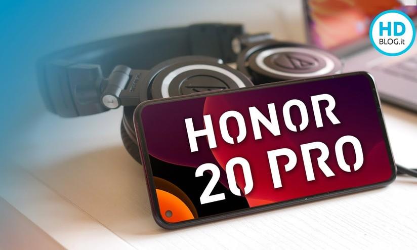 c754294e5a9 Recensione Honor 20 Pro: ha tanta autonomia e 5 fotocamere - HDblog.it