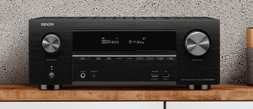 Denon AVR-X3600H sintoamplificatore AV Home Cinema