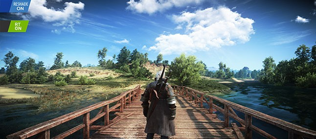 The Witcher 3: Wild Hunt with Mod Exodus Reshade is close to