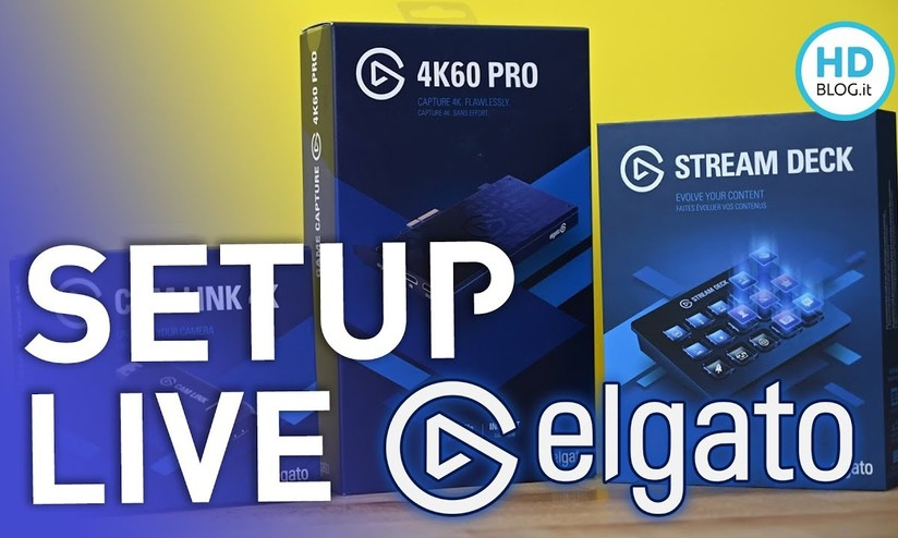 Come creare un setup per lo streaming online con Elgato - HDblog it