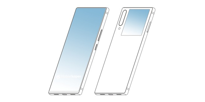 ZTE, con un brevetto rispolvera l'idea del display posteriore secondario per selfie - image  on https://www.zxbyte.com