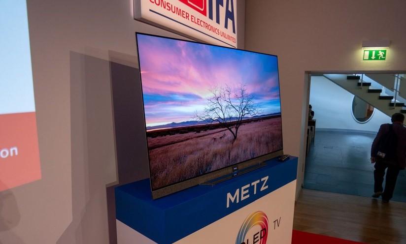 Metz: Android TV Pie OLED, 8K e trasparenti a IFA 2019
