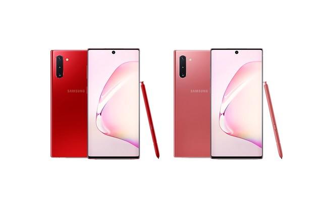 Samsung Galaxy Note 10: nuovi colori Aura Red e Aura Pink negli USA - image  on https://www.zxbyte.com