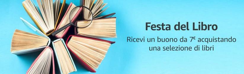 buono sconto 7 euro festa del libro amazon